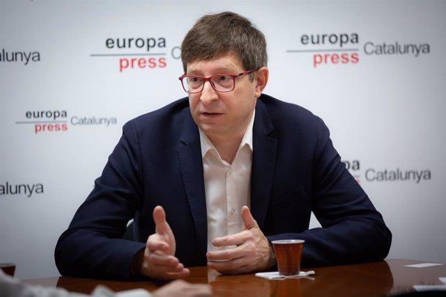 L'exconseller de Justícia de la Generalitat Carles Mundó.
