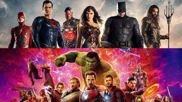 Personajes de Marvel y de DC