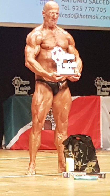 El olmedano Alfredo González aspira al título mundial de fisioculturismo en el campeonato de Hamburgo