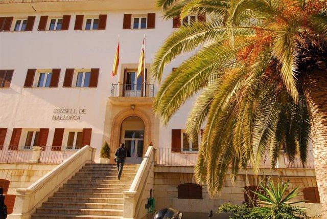 Fachada del Institut Mallorquí d'Afers Socials (IMAS) del Consell de Mallorca