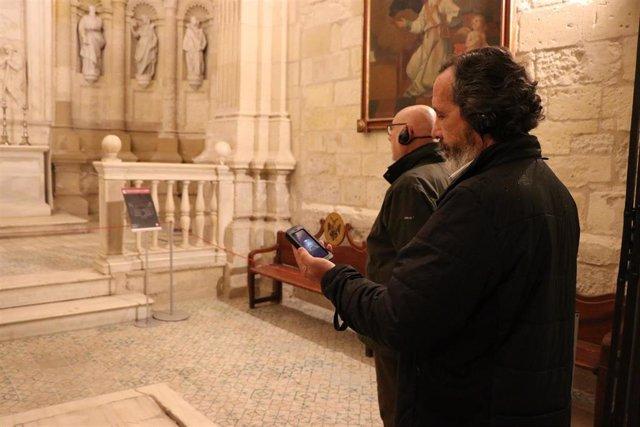 """Visitantes a la Catedral durante el programa """"Conocer para conservar"""""""
