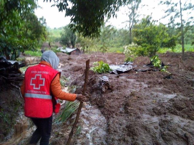 Inundaciones en Kenia