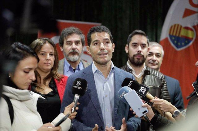 El diputado de Cs en el Parlament Nacho Martín Blanco.