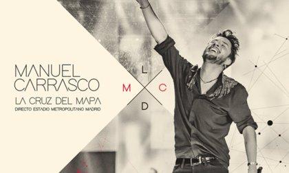 Manuel Carrasco estrena su nuevo disco 'La Cruz del Mapa'