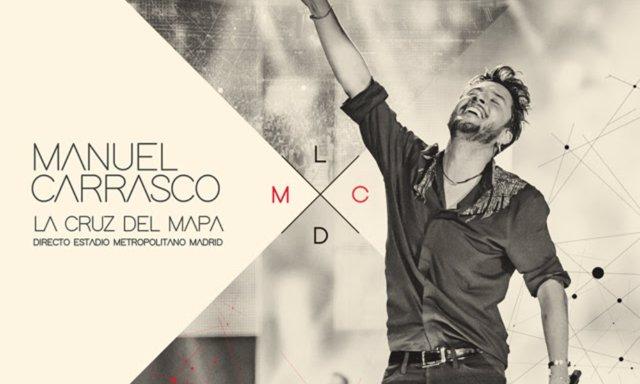 Portada del nuevo disco de Manuel Carrasco