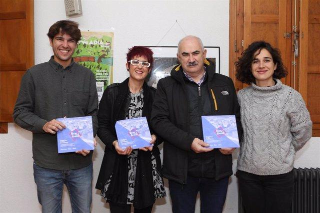 El consejero de Cohesión Territorial, José María Aierdi, en la presentación del proyecto 'Burgui Amable'
