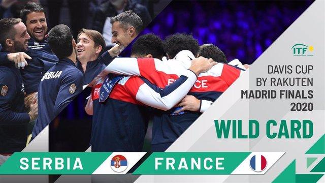 Francia y Serbia reciben las invitaciones para jugar las Finales de la Copa Davis en 2020.