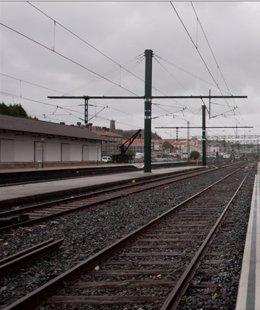 Estación de tren gallega