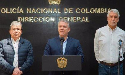 Colombia.- Iván Duque anuncia que el Ejército seguirá patrullando Bogotá