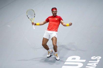 Nadal rescata otra vez a España en semifinales