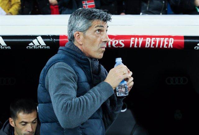 Imanol Alguacil en el Santiago Bernabéu