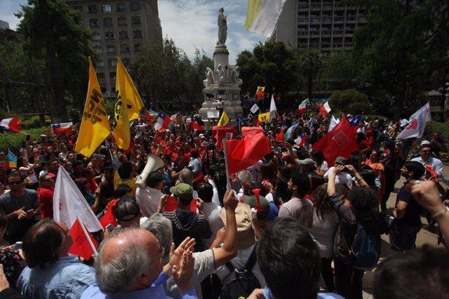 """Chile.- HRW señala las """"graves violaciones de Derechos Humanos"""" en Chile en el m"""