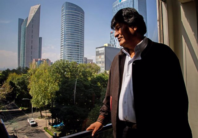 El expresidente de Bolivia, Evo Morales, en México.