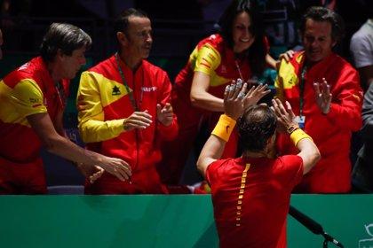 """Nadal: """"Ganar en equipo es mucho más satisfactorio"""""""