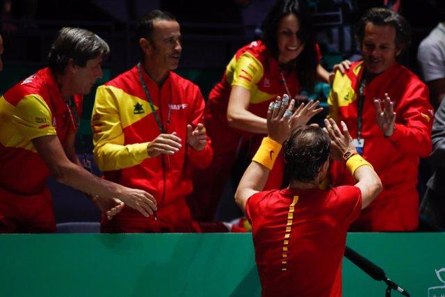 """Tenis/Davis.- Nadal: """"Ganar en equipo es mucho más satisfactorio"""""""