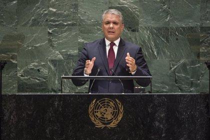 Colombia.- Duque anuncia que el diálogo nacional en Colombia comenzará este domingo