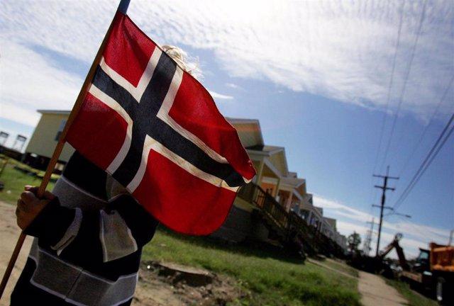 Recursos bandera de Noruega