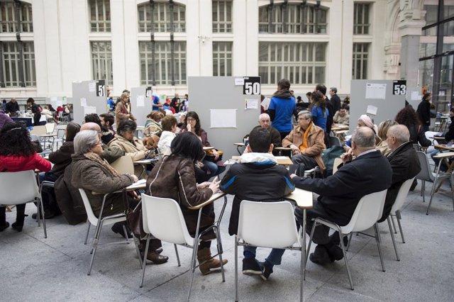 La experiencia de democracia participativa de Más Madrid y el PT brasileño, a de
