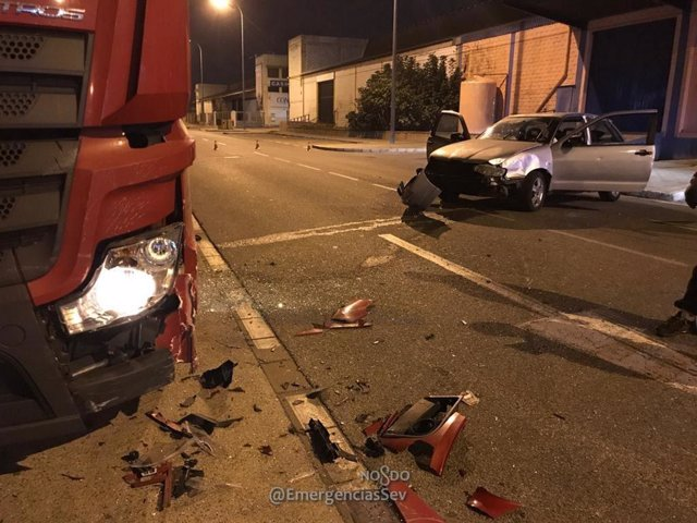 Estado del vehículo accidentado