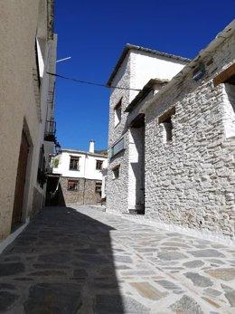 Calles de Pampaneira.
