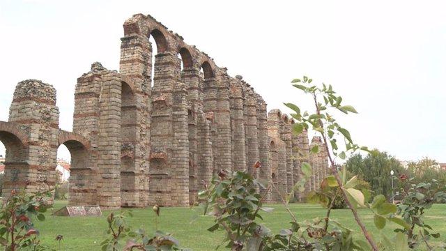 Acueducto de los Milagros de Mérida (Badajoz)