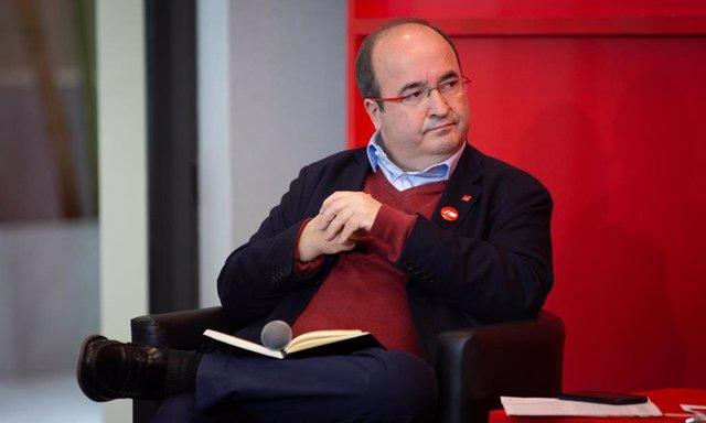 El secretario general del PSC, Miquel Iceta. FOTO DE ARCHIVO