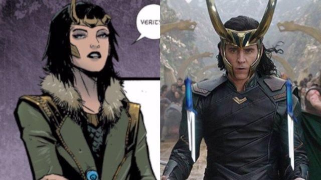 Loki se convierte en mujer