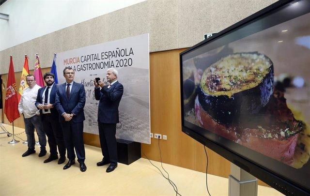 La ciudad de Murcia, Capital Española de la Gastronomía 2020