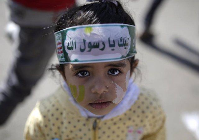 Yemen.- Los huthis piden ayuda neonatal a la comunidad internacional en Yemen, d