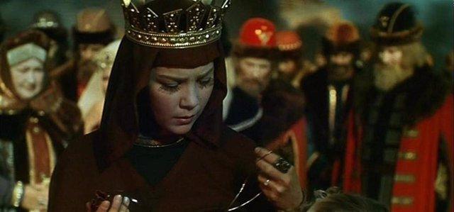 Fotograma de la película 'El cuento del zar Saltán', de Aleksandr Ptushko