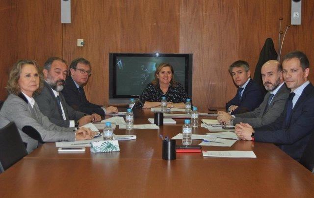 Reunión de seguimiento del acuerdo Junta C-LM-UCLM.