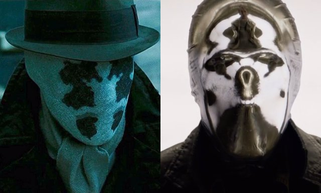Rorschach y Espejo, presente y pasado de Watchmen