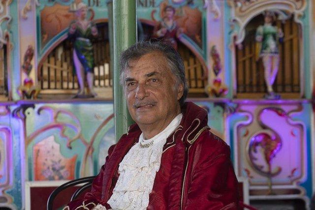 El creador y cofundador del Circo Raluy, Carlos Raluy.