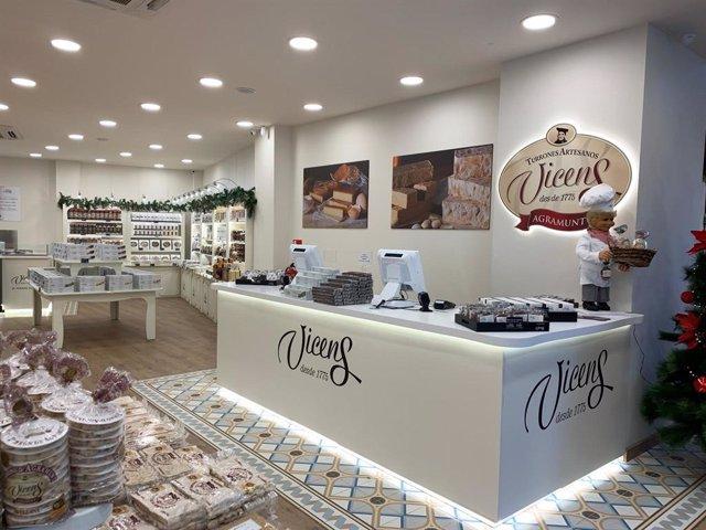 Torrons Vicens obre a Madrid la seva botiga més gran del món.