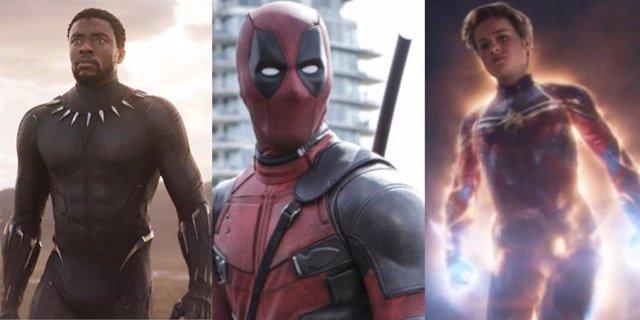 Estrenos de películas Marvel