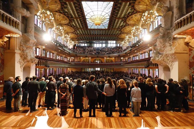 Más de 10.000 personas visitan el Palau de la Música Catalana en su jornada de puertas abiertas