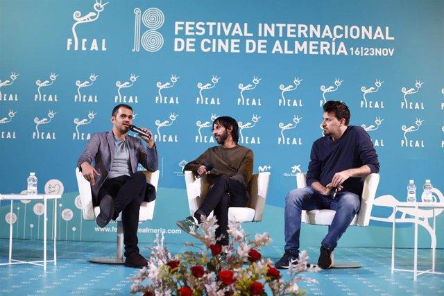 Marc Vigil Y Ramón Salazar En Una Mesa Redonda En El Fical