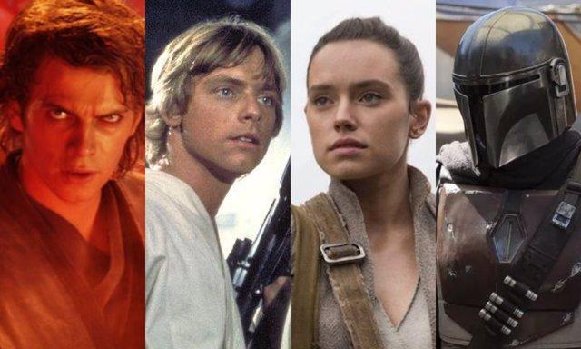 Desde Una nueva esperanza hasta The Mandalorian, todo Star Wars