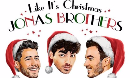Los Jonas Brothers adelantan la Navidad con 'Like It's Christmas'