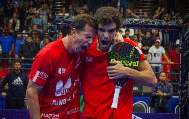 Paquito Navarro y Juan Lebrón, campeones del Sao Paulo Open 2019.