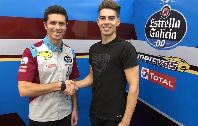 Augusto Fernández se incorpora al Team Estrella Galicia 0,0 Marc VDS.