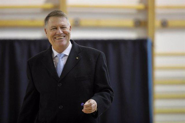 El presidente de Rumanía, Klaus Iohannis