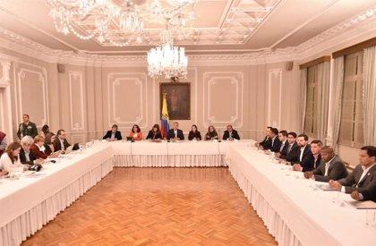 """Colombia.- Una reunión entre Duque y representantes electos da el pistoletazo de salida al """"diálogo social"""" en Colombia"""