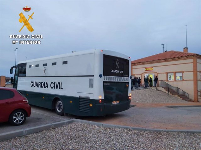 Autobús Guardia Civil.