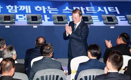 Corea.- Corea del Sur critica a Corea del Norte por unas maniobras de artillería cerca de la frontera marítima
