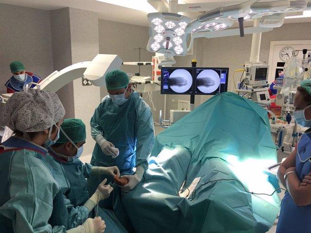 Cirugía, pie