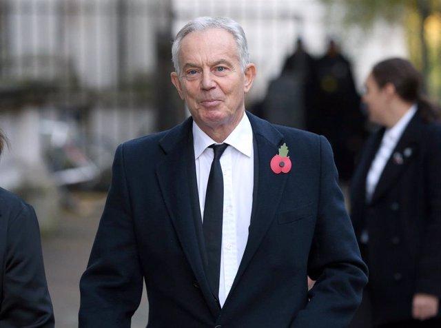 El ex primer ministro de Reino Unido Tony Blair