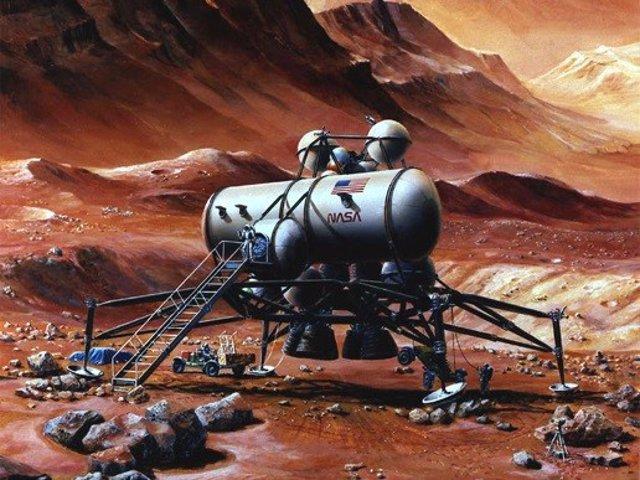 Base en Marte