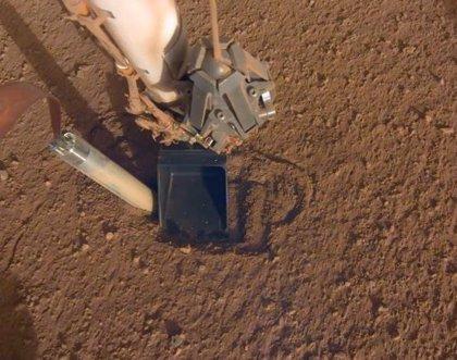 Nuevo intento de perforación del aterrizador InSight en Marte