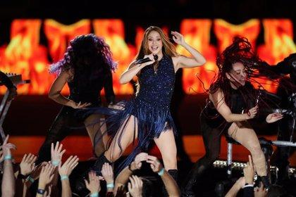 Vídeo de la actuación de Shakira en la final de la Copa Davis